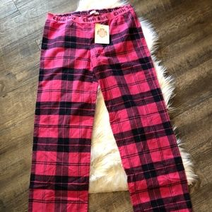 Juicy Couture Choose Sleep Plaid Sleep Pants PJ's